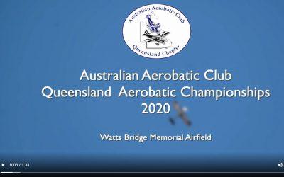 AAC-QLD Aerobatic Championships Video